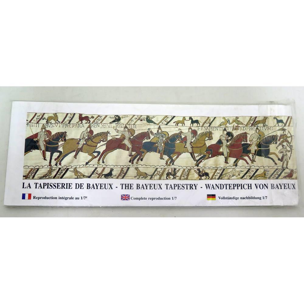 La Tapisserie De Bayeux The Bayeux Tapestry Wandteppich Von