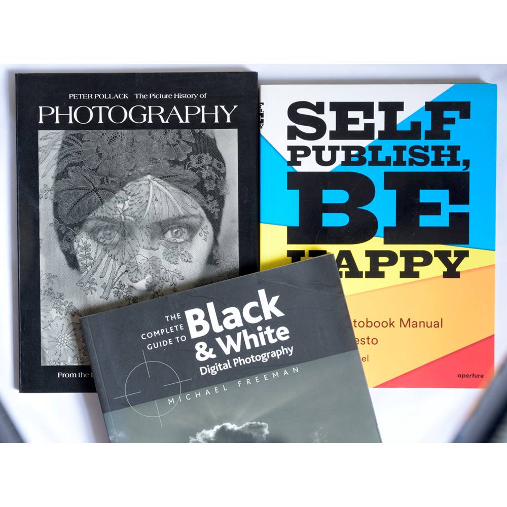 A collection of three key photographic books oxfam gb oxfams online shop