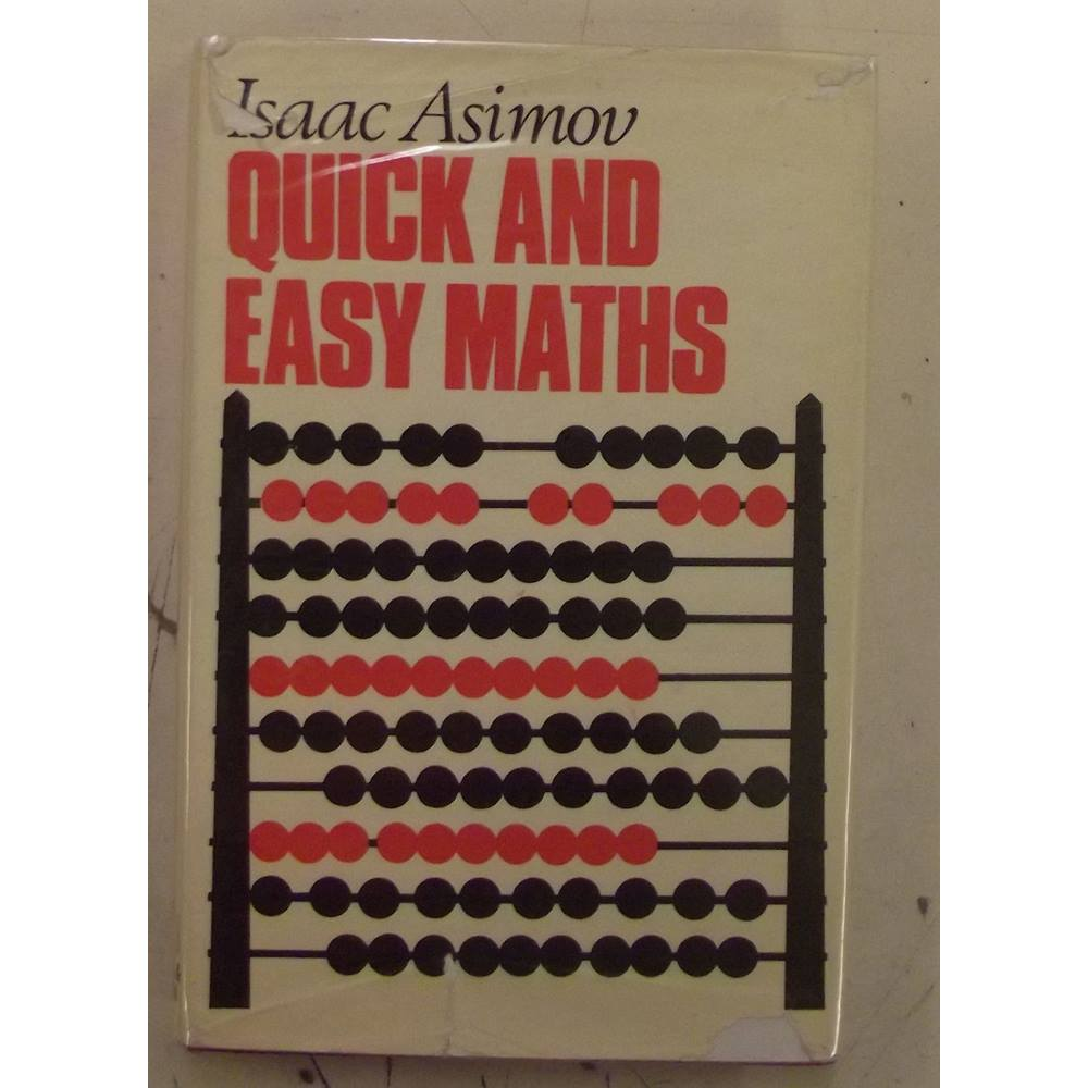 Image result for Quick and easy maths asimov