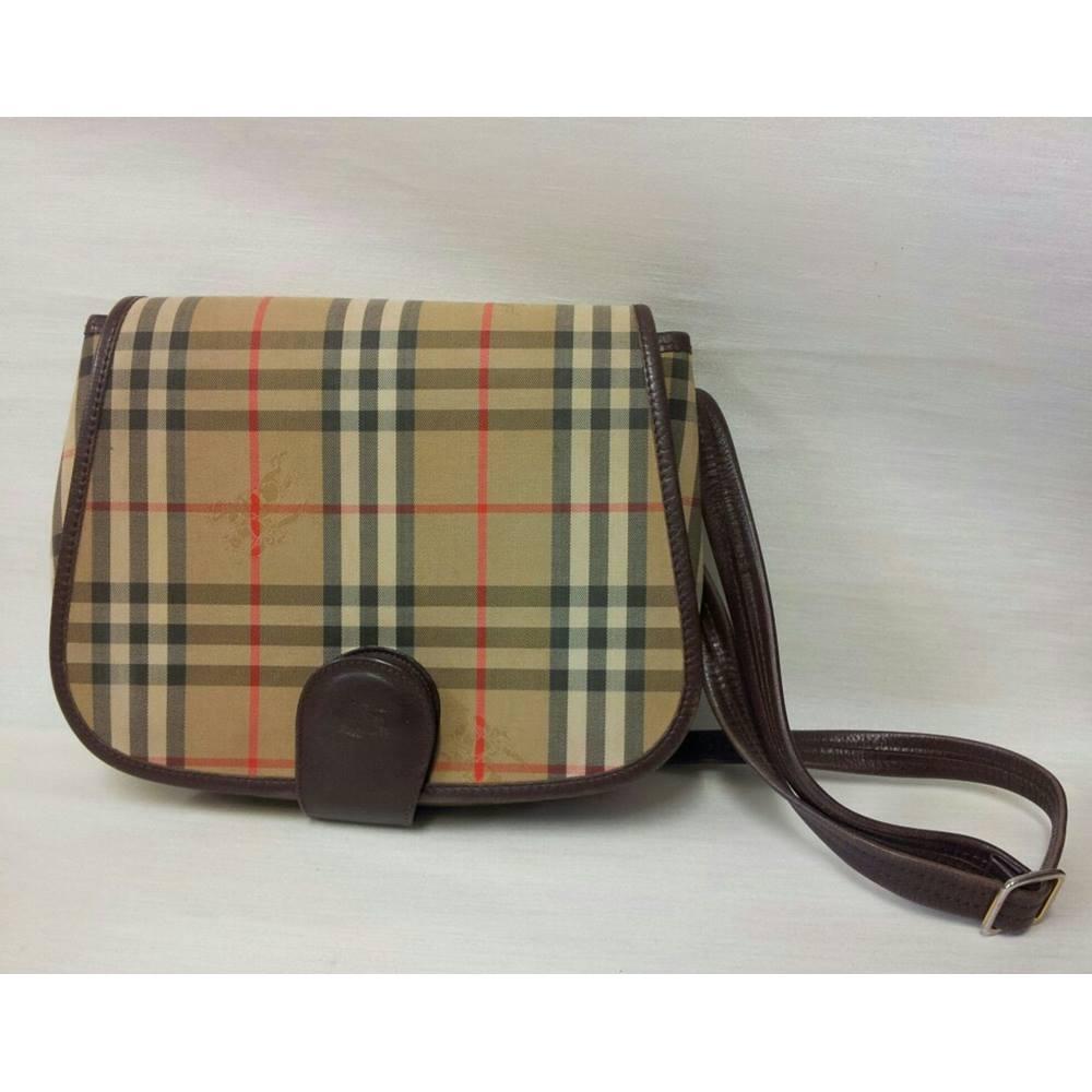 fe6700f232d6 Vintage Burberry Nova Check Haymarket cross-body bag Burberry -  Multi-coloured