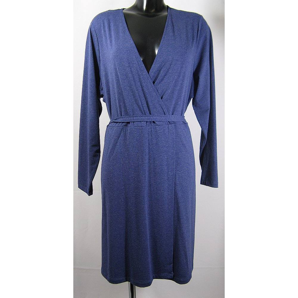 1212fa36e8 BNWOT M&S Collection Dress - Blue - Size 22 M&S Marks & Spencer - Size:
