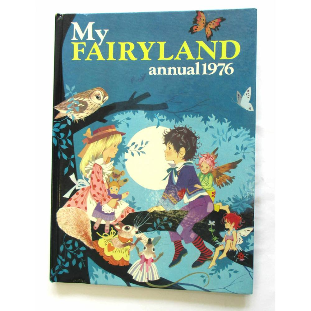 Preview of the first image of My Fairyland Annual 1976.