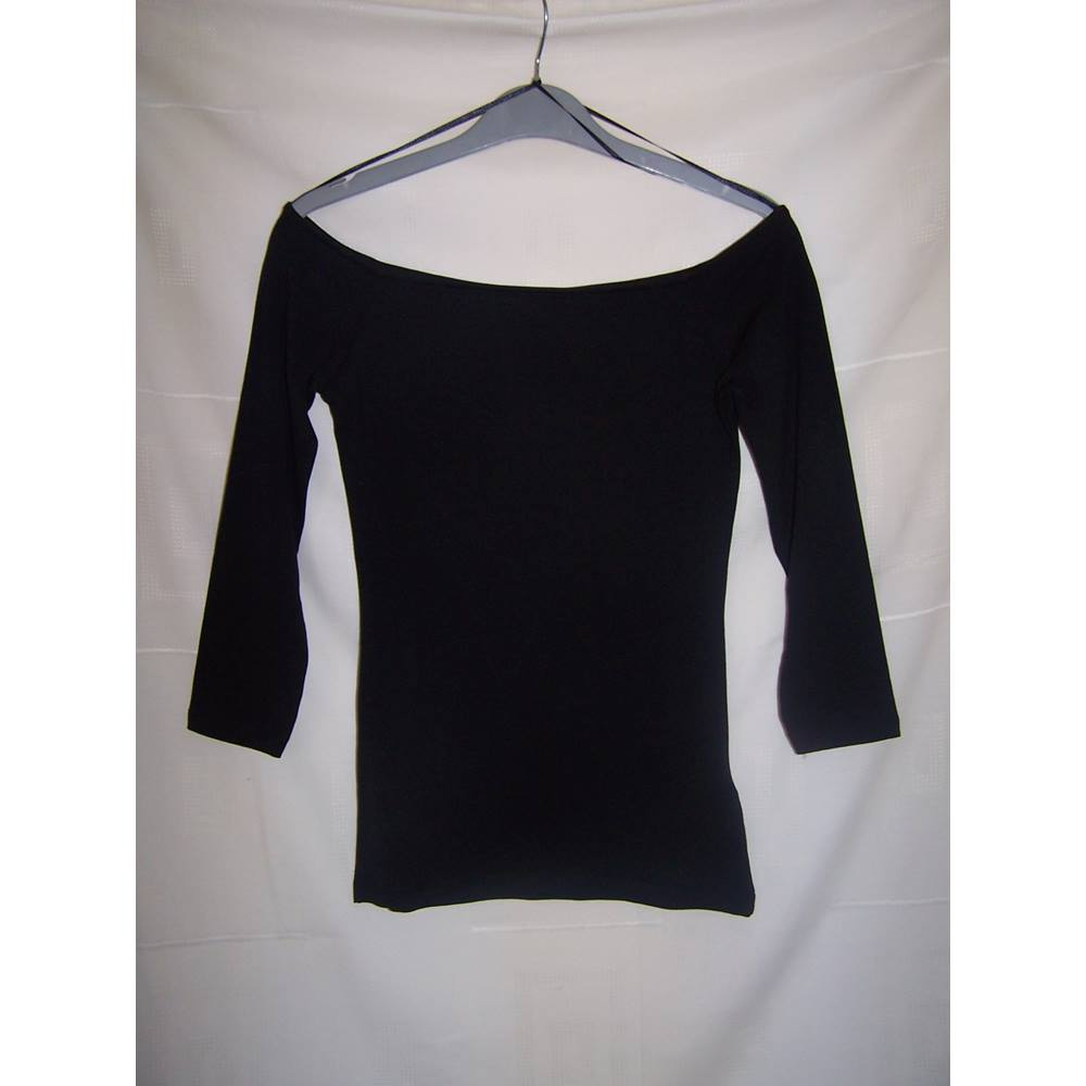 1f285bc5 H & M Basic Black Long Sleeved Top Size XS H&M - Size: XS -. Loading zoom