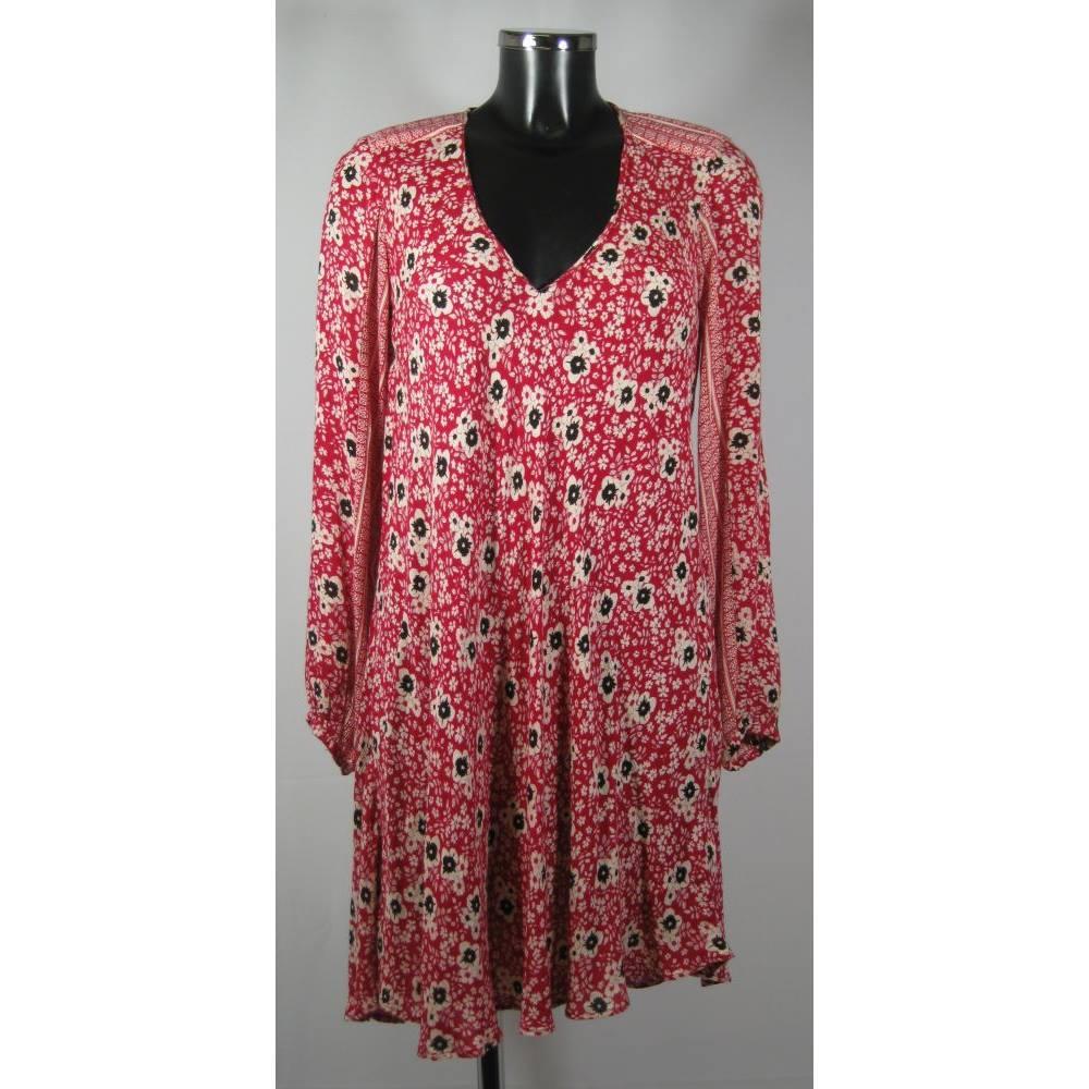 01bcd92d Zara Trafaluc Dress - Multicoloured - Size XS (approx. Size 8) Zara -.  Loading zoom