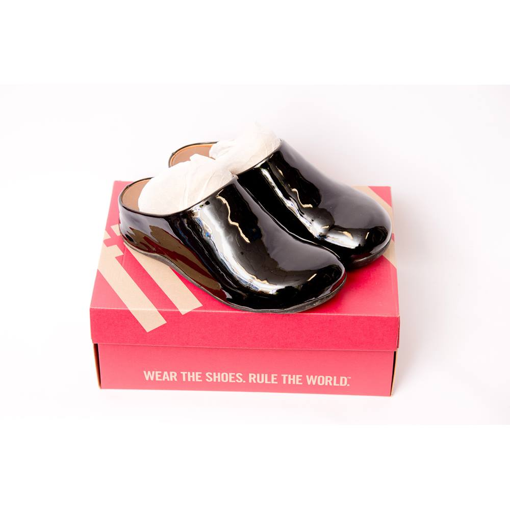 eb6bd9a36fa7 Fitflop Shuv - Size  6 - Black - Slip-on shoes