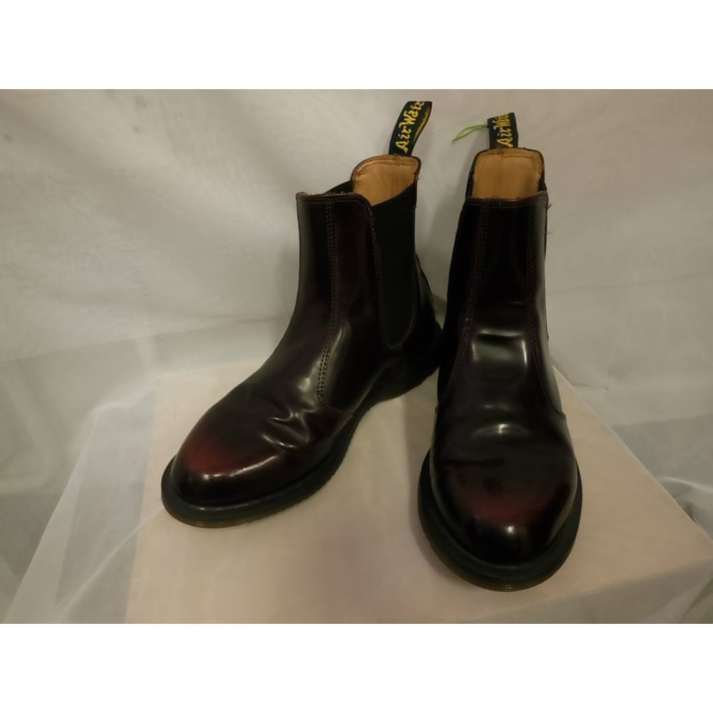 83f0ab6b210951 Doc Martens Flora Women s Boots size 5 Doc Martens - Size  5 - Brown -