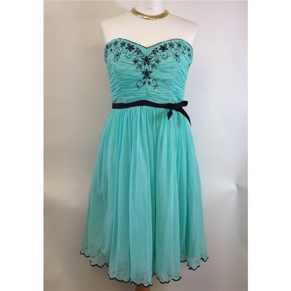 Eucalyptus - Size: 10 - Spearmint Mini Dress   Oxfam GB   Oxfam\'s ...