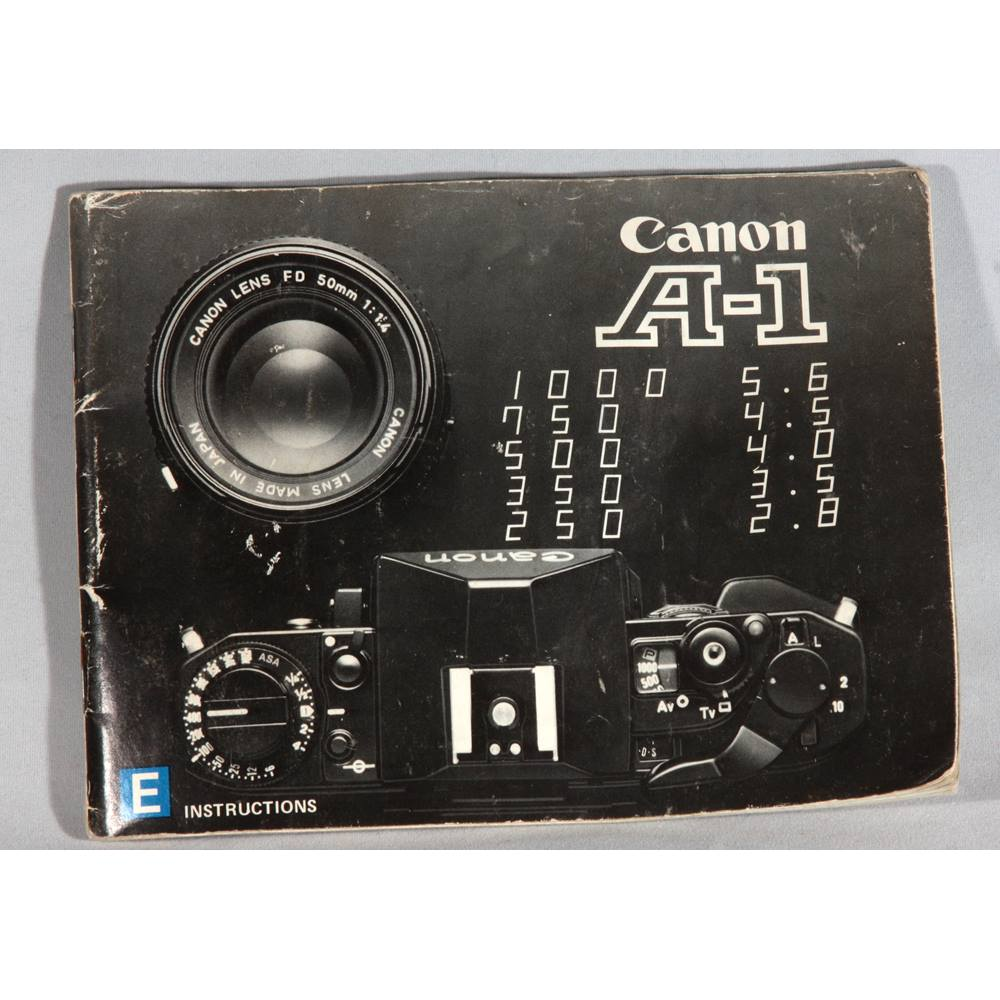 manual online canon