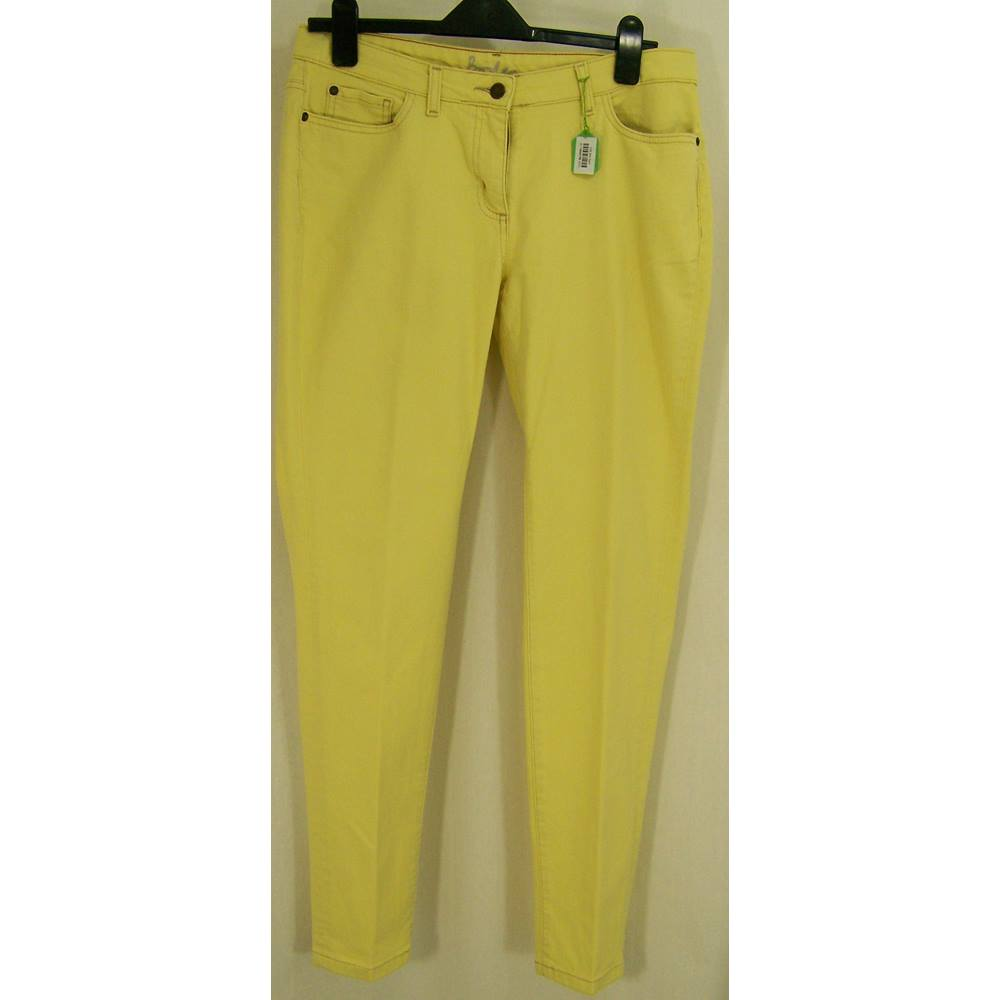 77641bb9b73bc Boden - Size 14R Pale Yellow Jeans