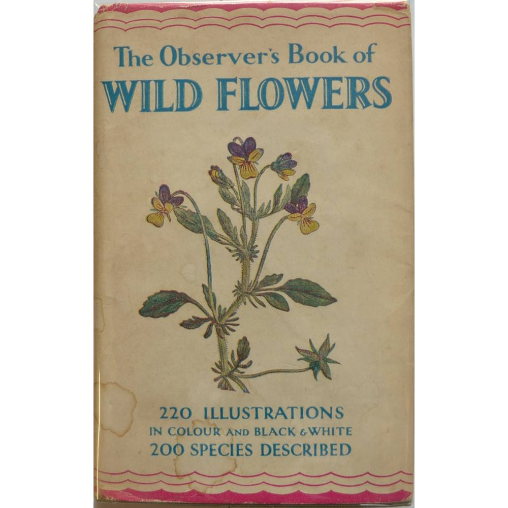The Observer's Book of Wild Flowers. Loading zoom
