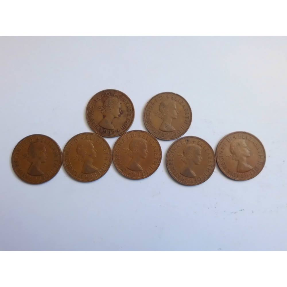 Old one penny coins 1960 | Oxfam GB | Oxfam's Online Shop