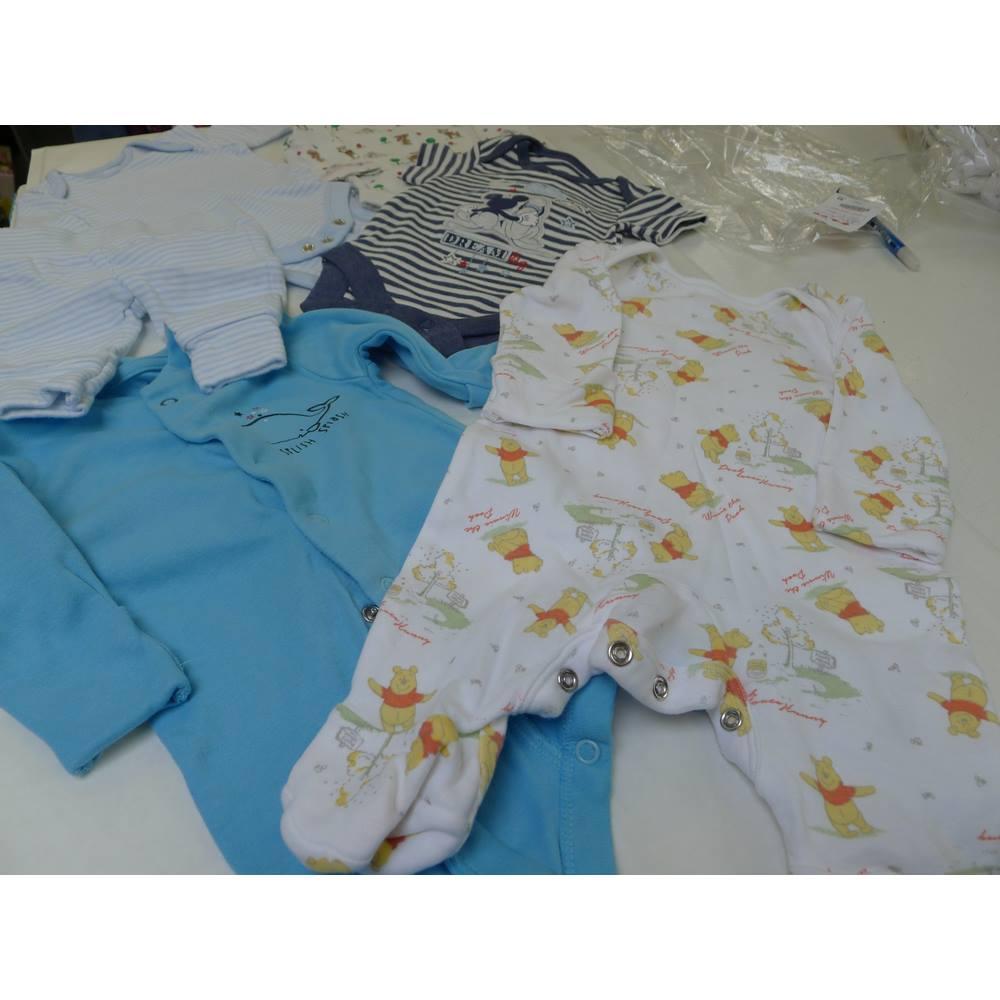 5db570a9c434 Baby Boys Newborn bundle baby clothes Unbranded - Size  0 - 12 months - Blue