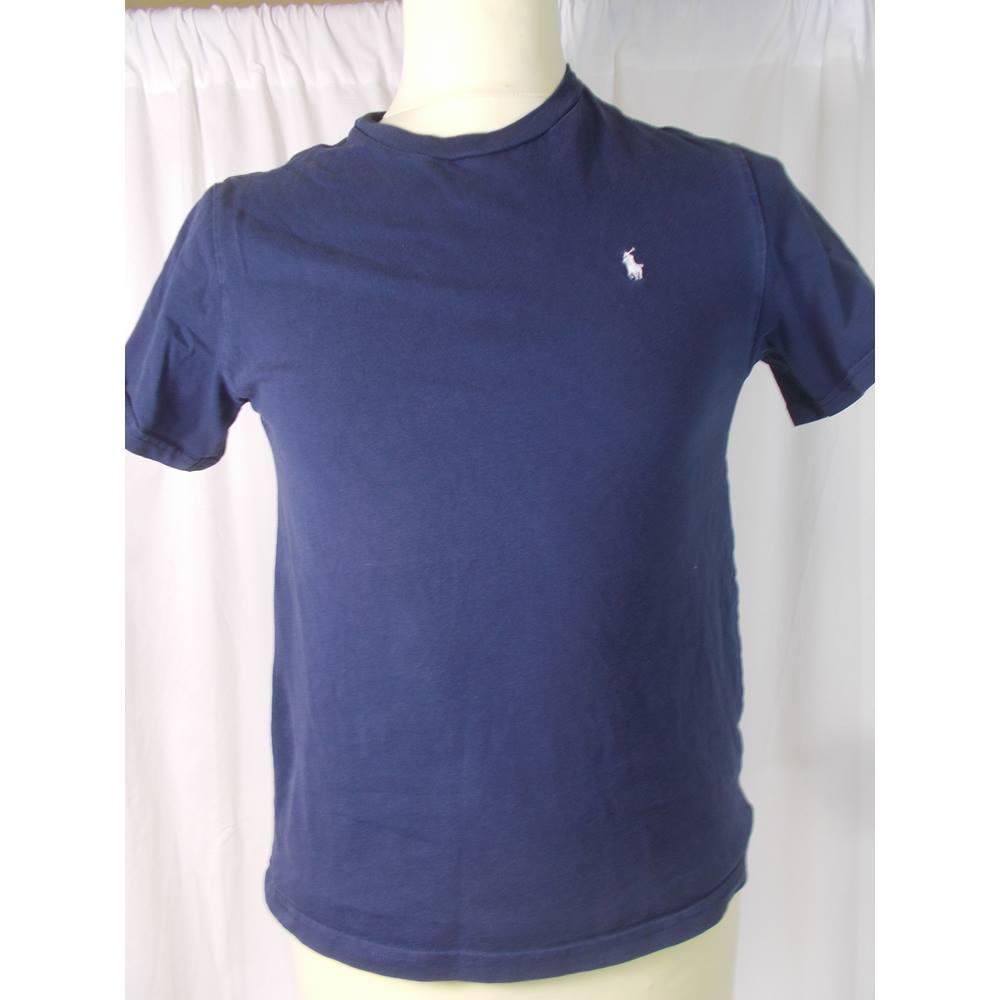 unisex POLO Ralph Lauren size 14-16 (large) tee shirt  cee4989f6b4a5