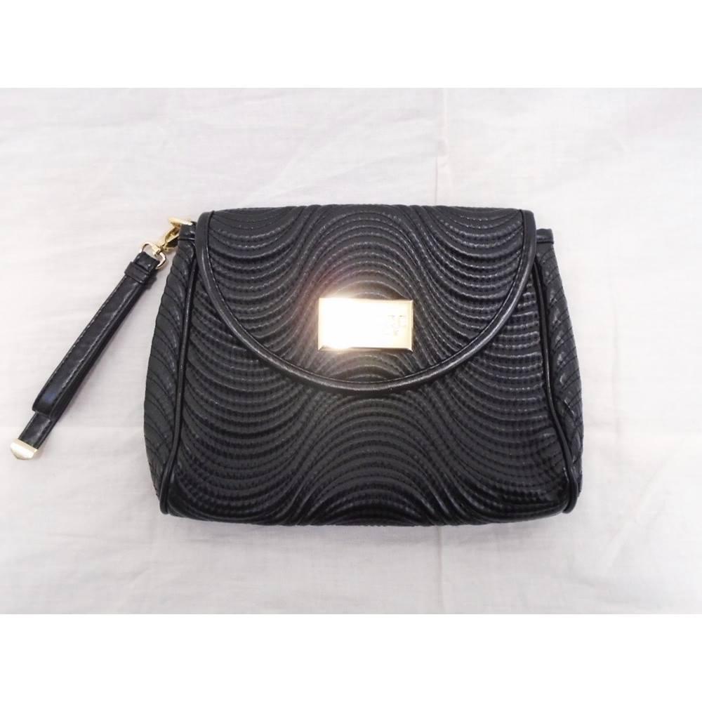 4ab28e6d Versace Parfums - Black Clutch Bag | Oxfam GB | Oxfam's Online Shop