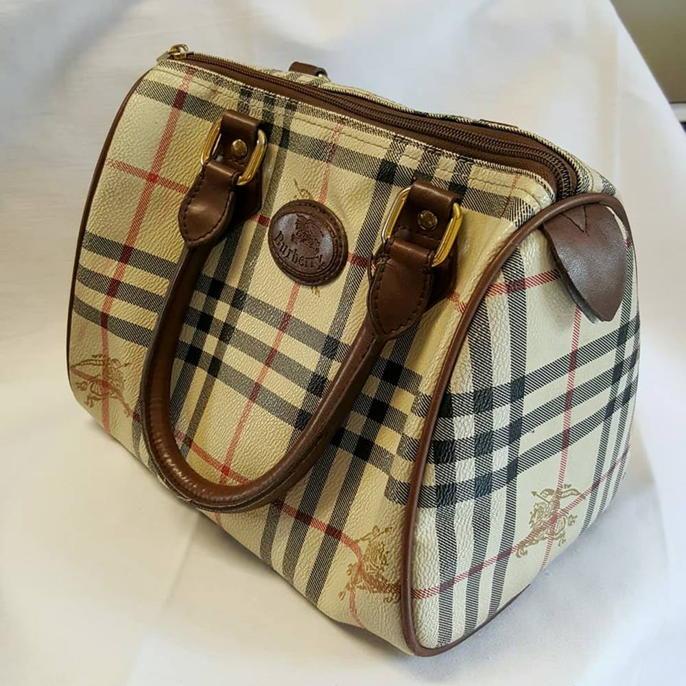 46e73e1e353 Vintage Burberry London small handbag | Oxfam GB | Oxfam's Online ...