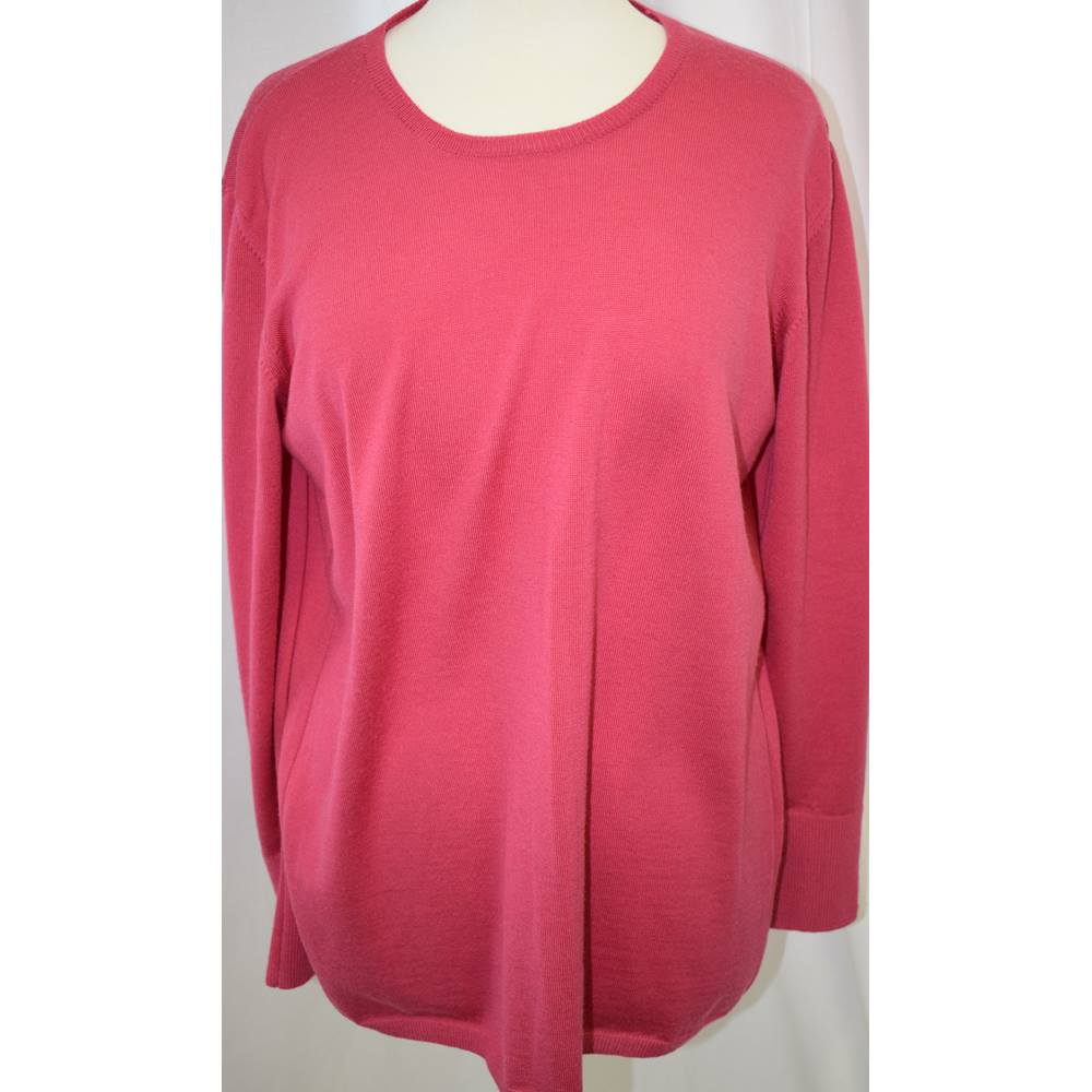 1ba7d17e661b6 Spirito di Artigiano pink summer sweater size 20 Spirito di Artigiano - Size   20 - Pink - Jumper