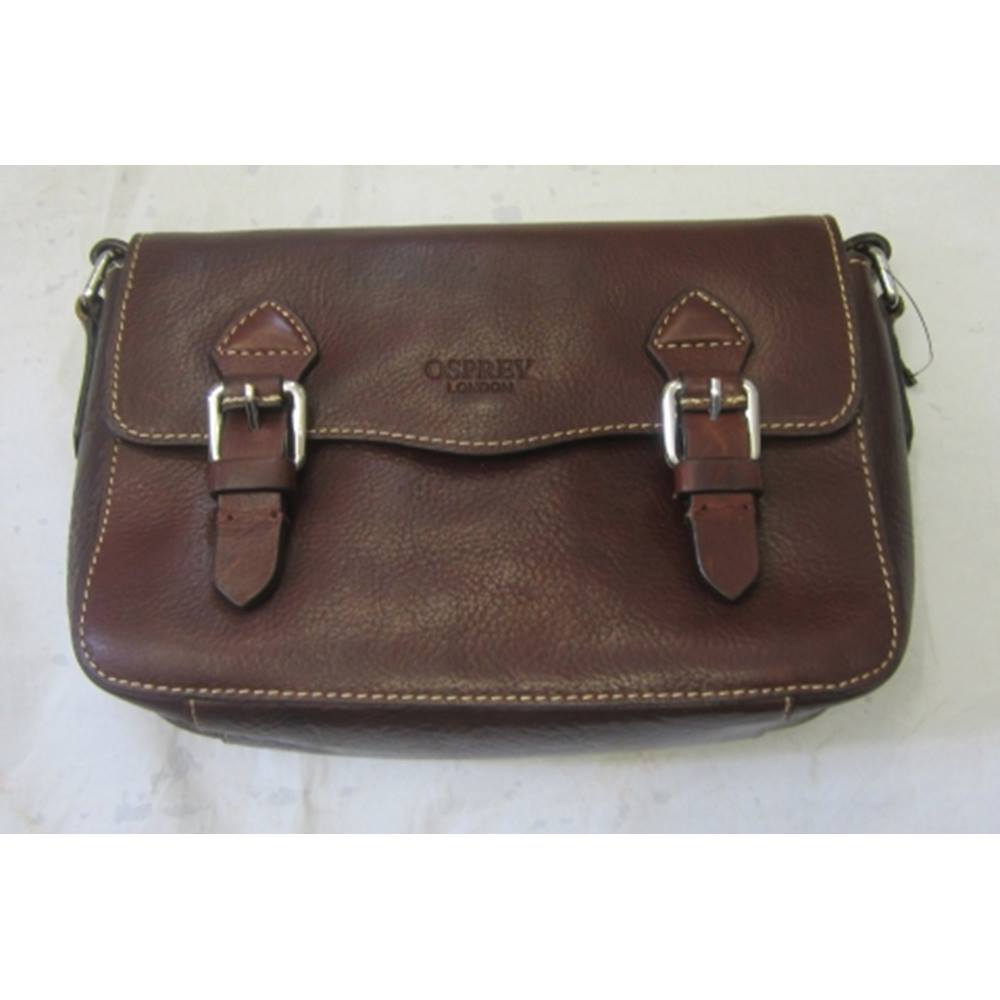Osprey London Handbag Osprey London - Size  One size - Brown - Cross body  bag 4bb35d7335