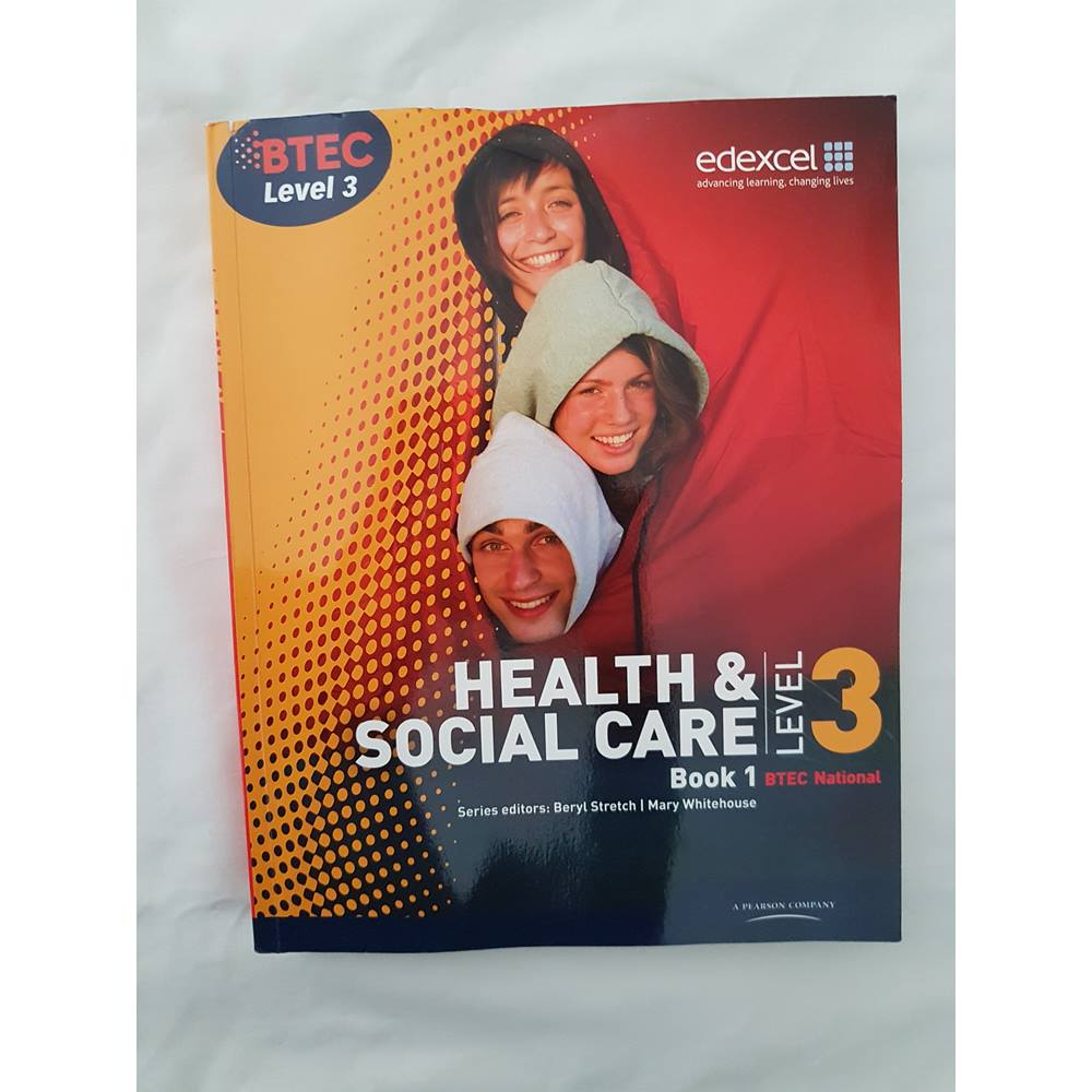 btec level 3 national health and social care student book 1 level 3 btec national health and social care