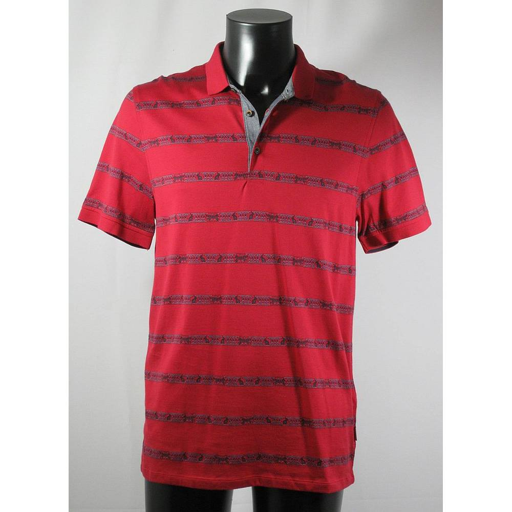 8af51372587e BNWOT Ted Baker Polo Shirt - Multicoloured - Size XL (TB Size 5 - Chest. Loading  zoom. Rollover to zoom