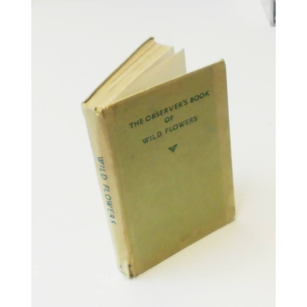 Vintage The Observer's No. 2 Book of Wild Flowers