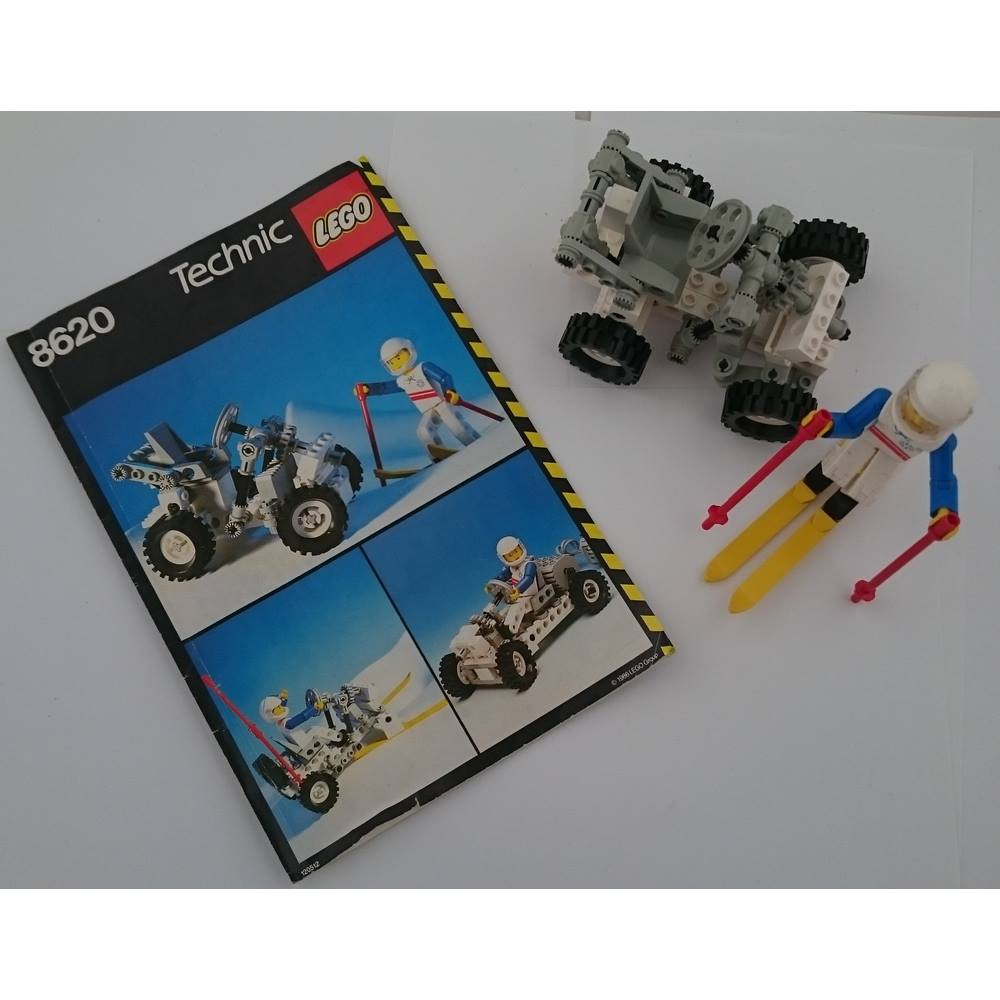 Lego Technic Snow Scooter Ski Buggy 8620 With Original Instructions