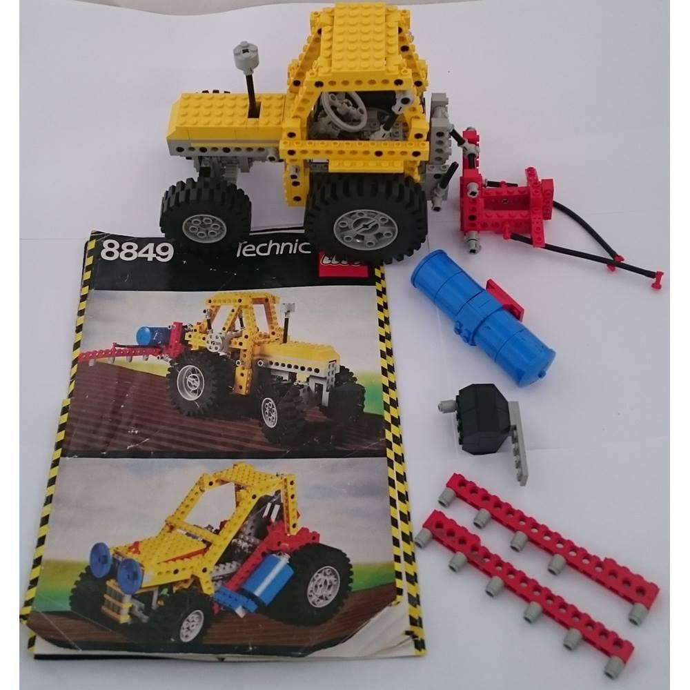 Lego Technic Tractor 8849 Vintage Oxfam Gb Oxfams Online Shop