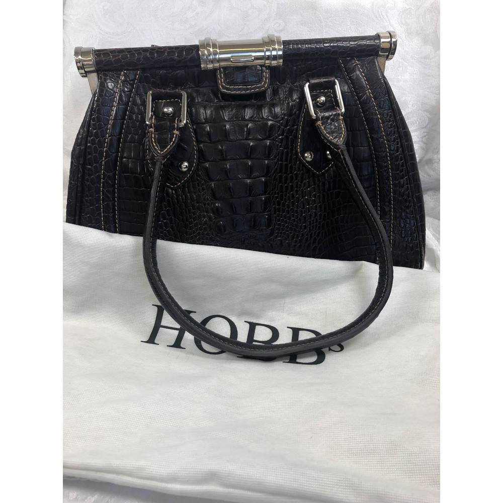 Hobbs Handbag Brown Size M Loading Zoom