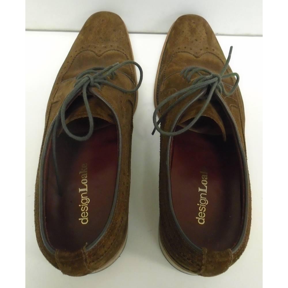 ef00541b Loake - Size: 6.5 - Brown - Brogue | Oxfam GB | Oxfam's Online Shop