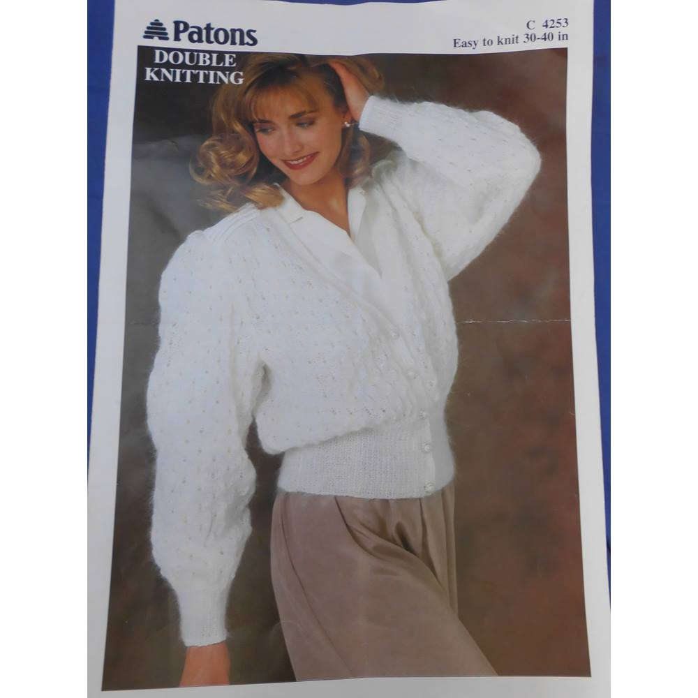 1269cd707207 Patons Ladies Cardigan Knitting Pattern For Sale in Carlisle