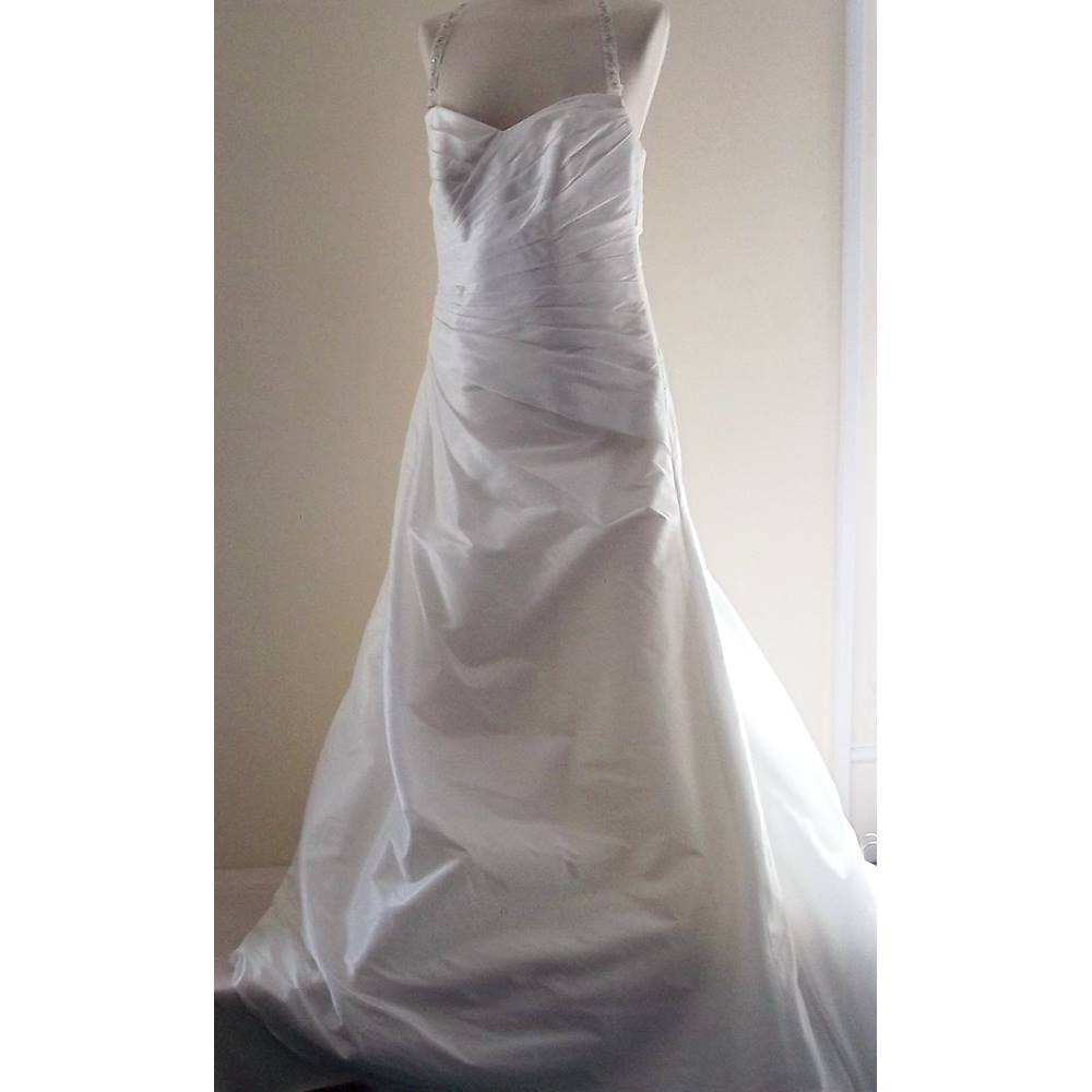 Agnes - Size: 14 - White - Strapless Wedding Dress
