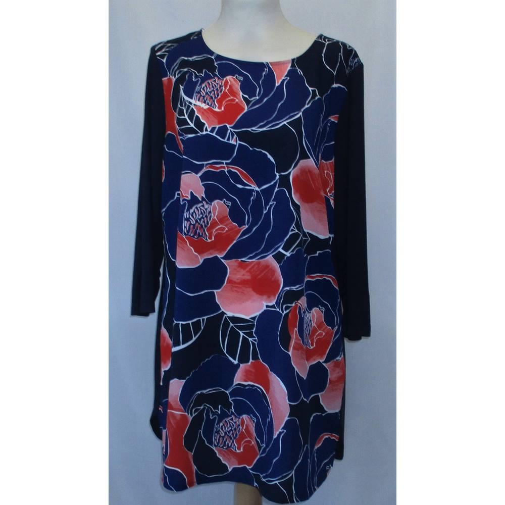 e80689a7ea0 Soon Floral Tunic Dress - Size: 12 - Multi-coloured | Oxfam GB ...
