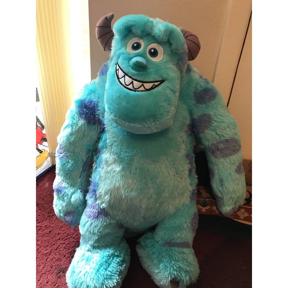 disney plush sully from monsters inc soft toy teddy 19 inch large