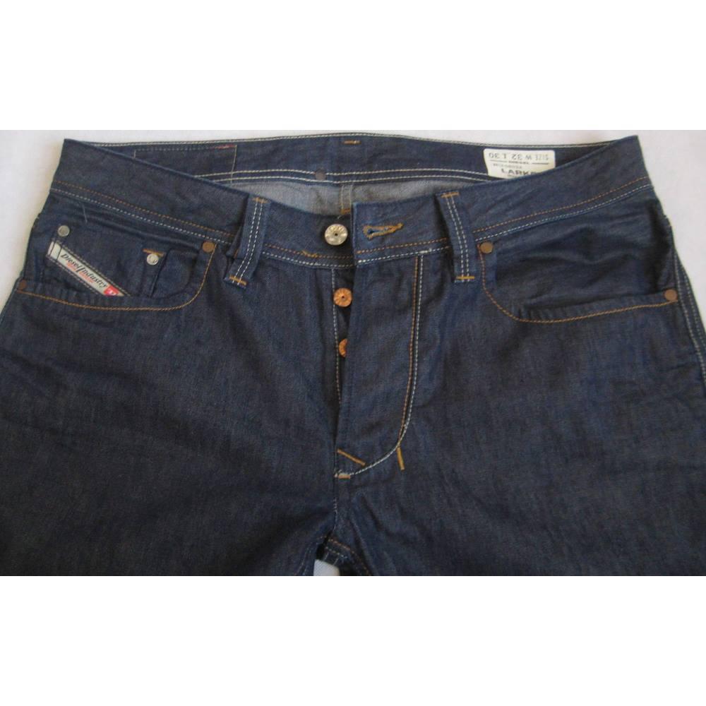 4968519d Diesel Larkee regular straight blue jeans W32 L30 Diesel - Size: 32