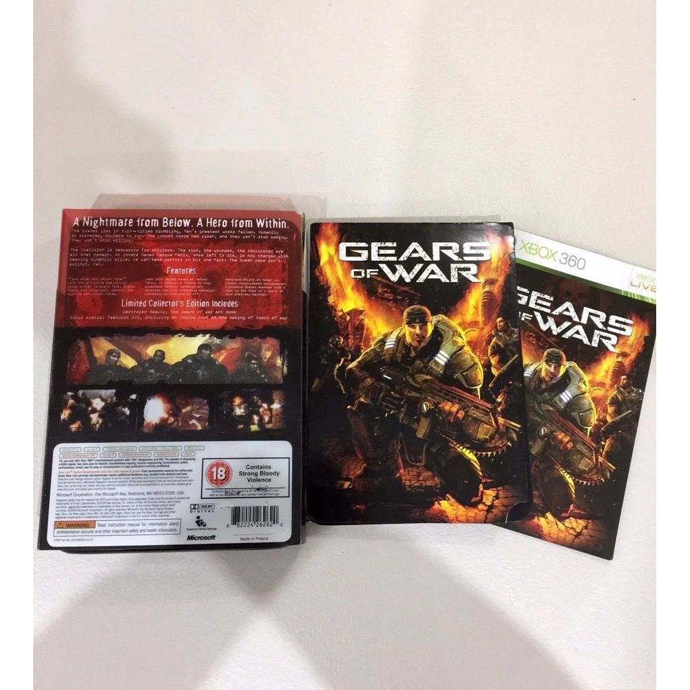 GEARS OF WAR Limited Collector's Edition in tin | Oxfam GB | Oxfam's Online  Shop