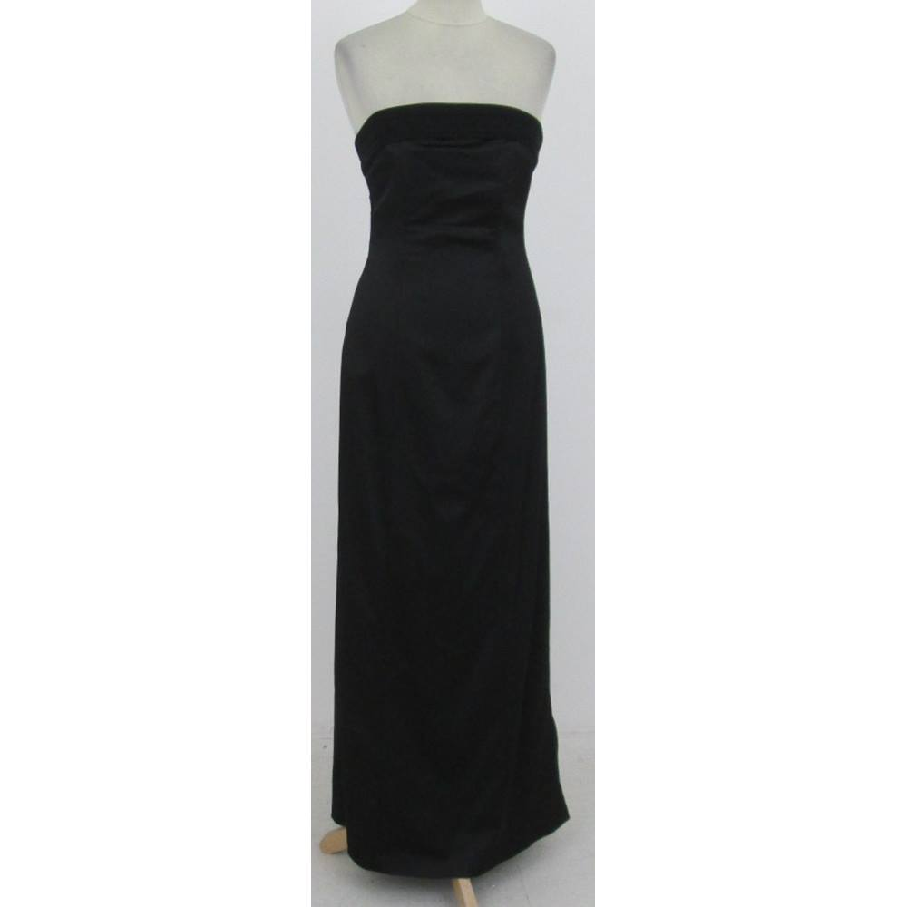 ec1a1c799d27 Coast Size:10 black strapless evening dress | Oxfam GB | Oxfam's ...