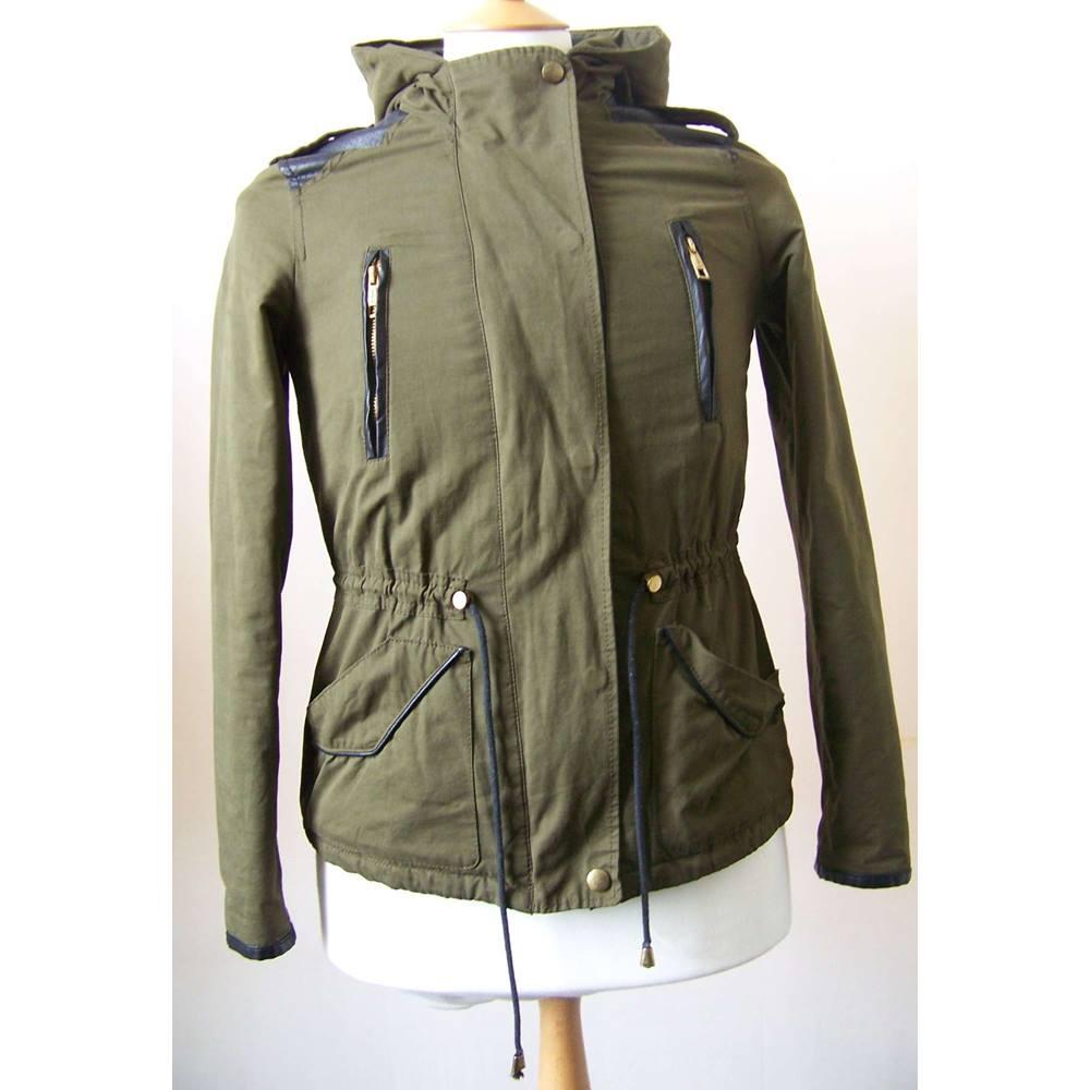 f9d9e982e42a Zara - Size: XS - Green | Oxfam GB | Oxfam's Online Shop