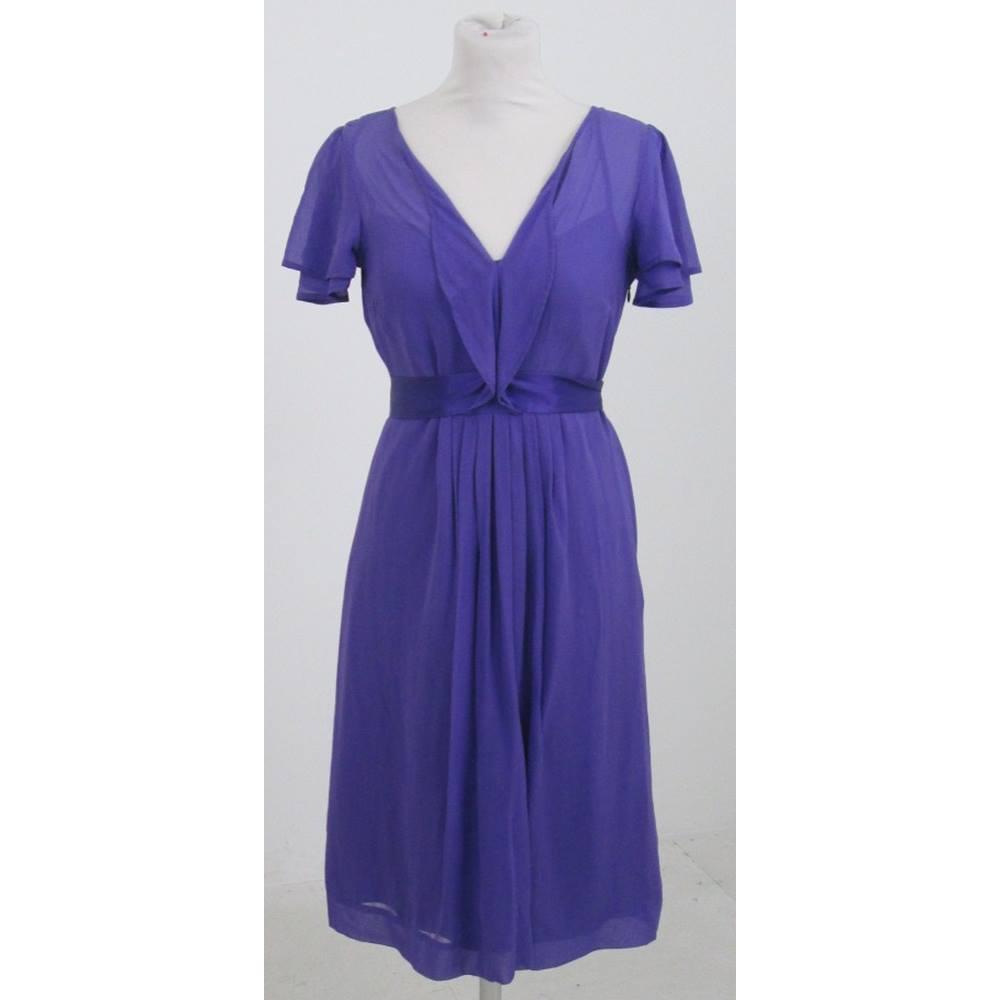monsoon purple silk dress - Local Classifieds | Preloved