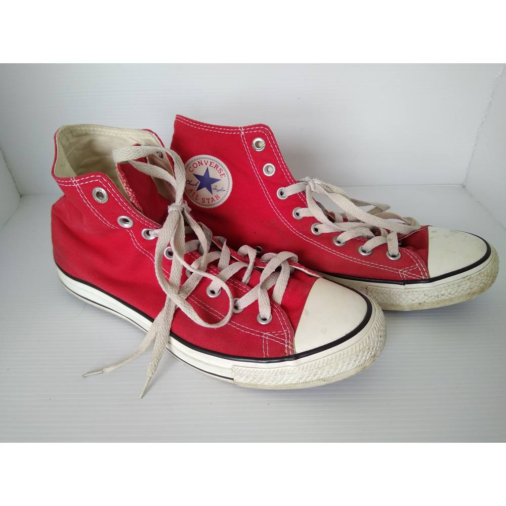 b069d033eb9d Converse All Star high top RED edition Converse - Size  10 - Red - Hi ...