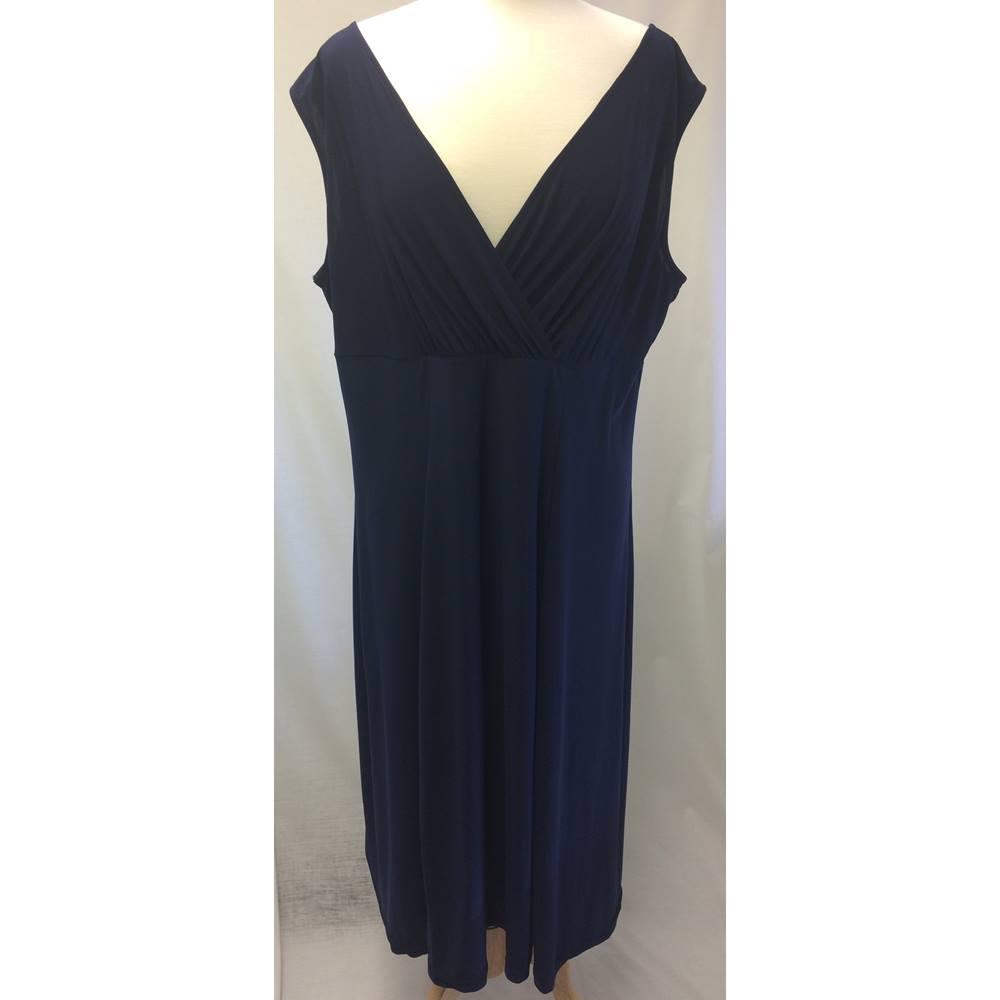 87d735d411 Joanna Hope - Size: 22 - Blue - Cocktail dress | Oxfam GB | Oxfam's ...