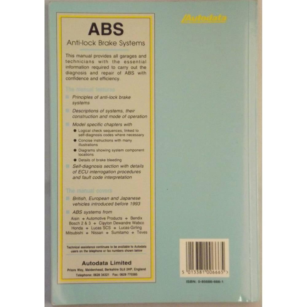 ABS Anti-lock Brake Systems | Oxfam GB | Oxfam's Online Shop