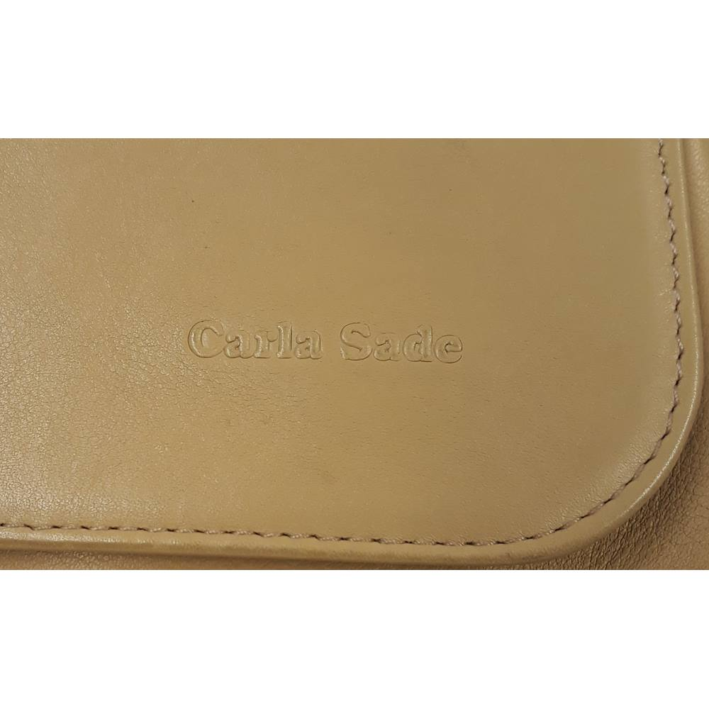 3cbed3823e0b Carla Sade vintage women s handbag Carla Sade - Size  Not specified - Beige.  Loading zoom. Rollover to zoom
