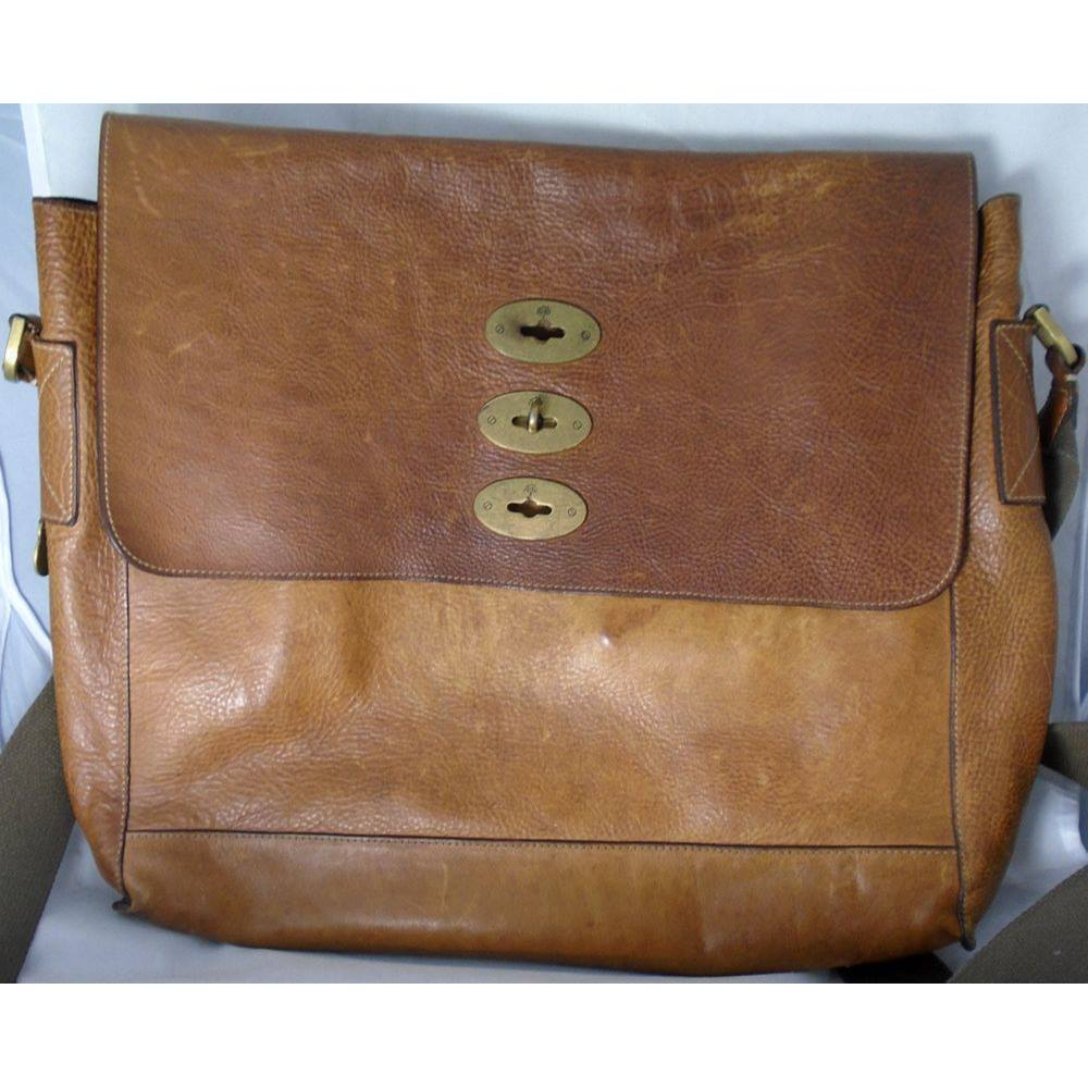047f7de8ff Mulberry Brynmore Leather Messenger Bag Mulberry - Size  One size - Brown
