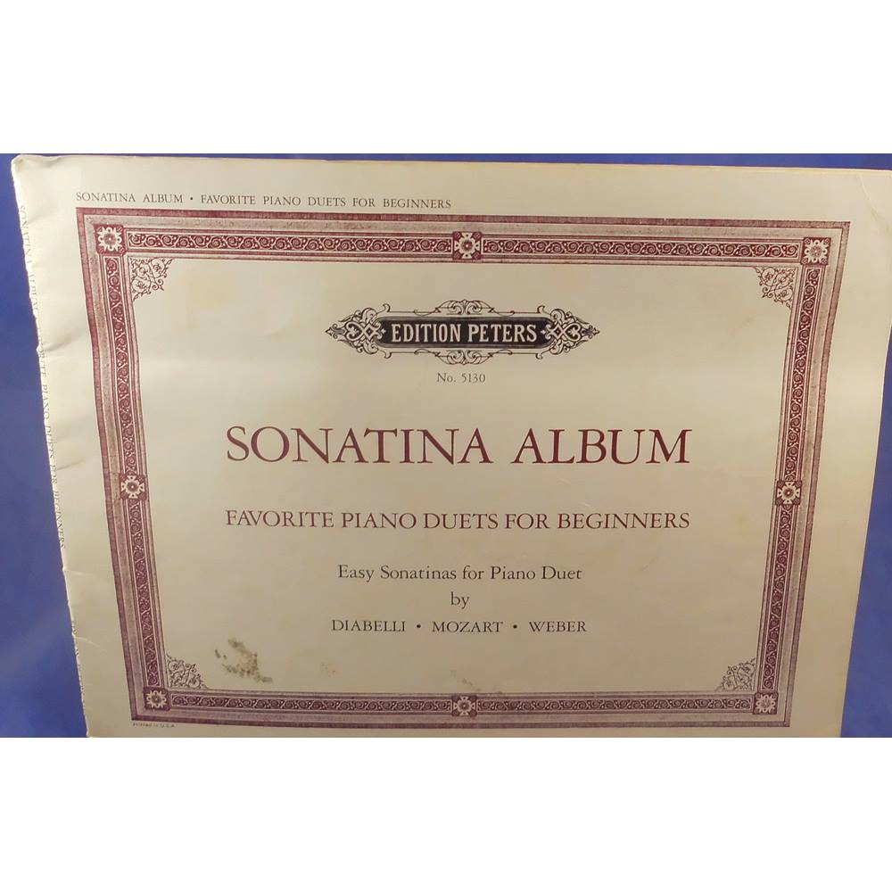 Sonatina Album - Favourite Piano Duets For Beginners | Oxfam GB | Oxfam's  Online Shop