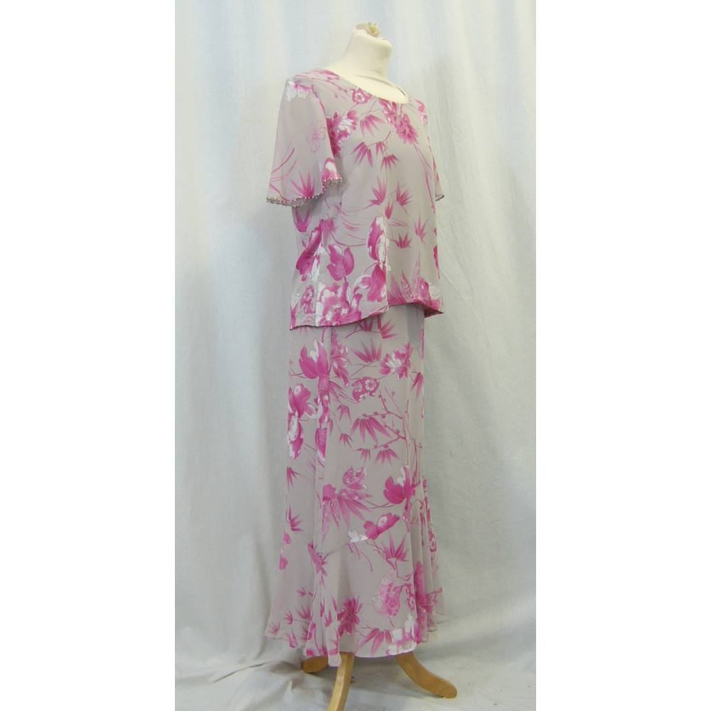 78d764e8f9 Jacques Vert - Size  M - Pink - Skirt suit For Sale in London