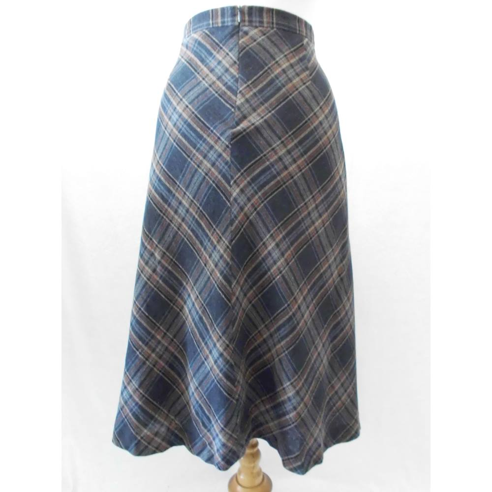 Laura Ashley - Size: 14 - Brown - A-line skirt for sale  Leeds
