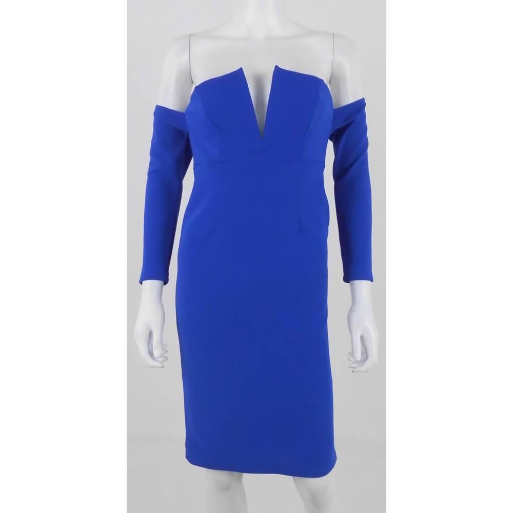 8a149ce94e BNWT ASOS Petite Size 10 Cobalt Blue Dress