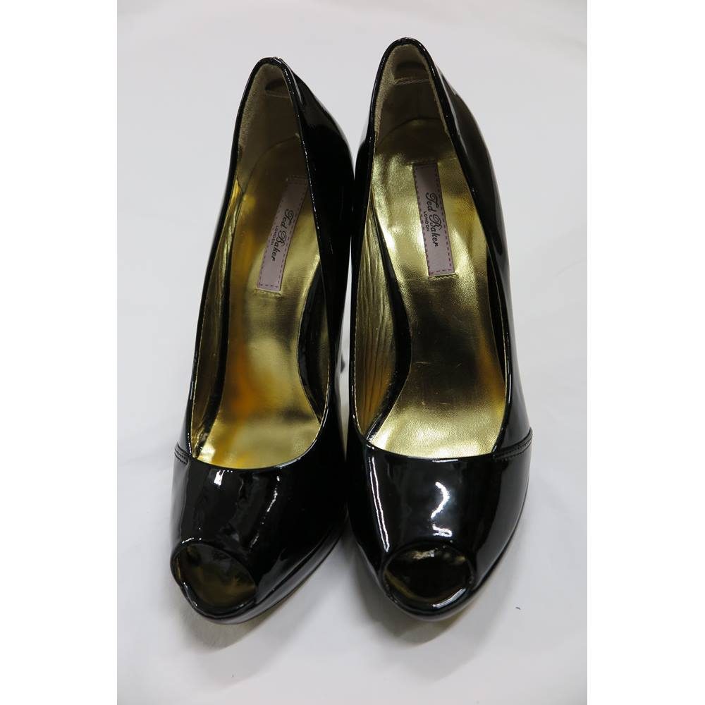 111b21aae Ted Baker - Size: 5 - Black - Heeled shoes | Oxfam GB | Oxfam's ...