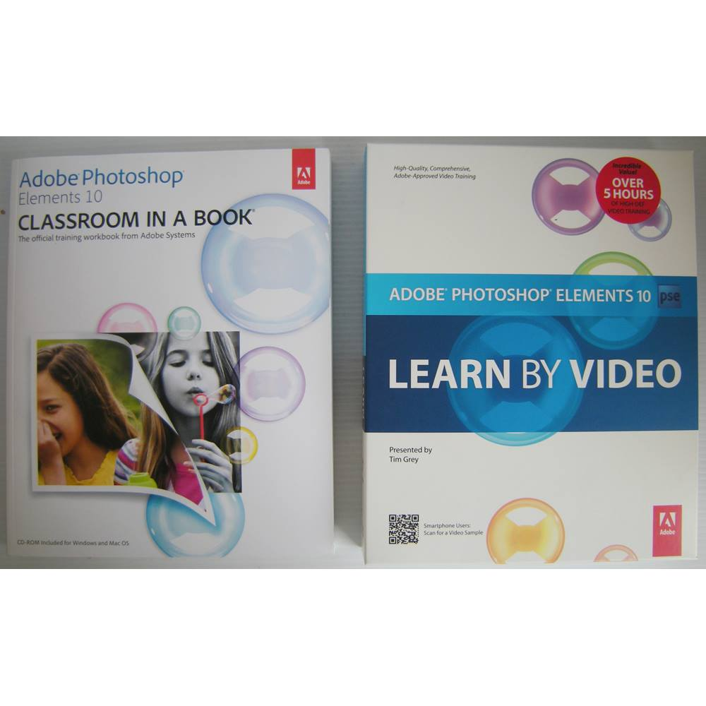 Adobe Photoshop Elements 10: Learn by Video and Classroom in a Book.  Loading zoom