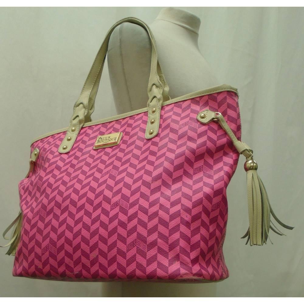 PAUL s BOUTIQUE - Size  L - Pink - Shopper bag fab38889c2cd2