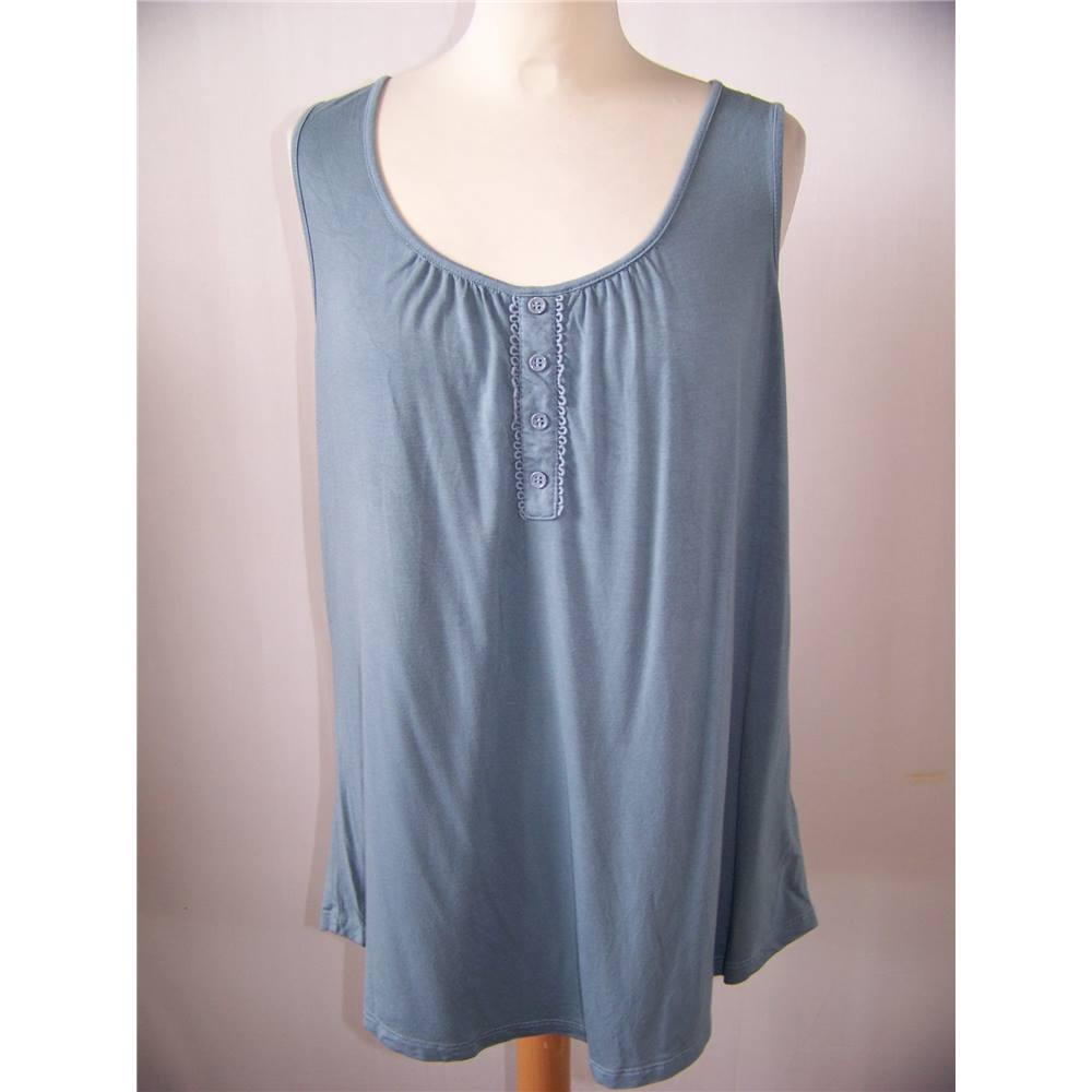 3bcf191a7e660 Cable   Gauge - Size  XL - Blue - Blouse. Loading zoom. Rollover to zoom